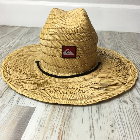 f0d35fe74 Quicksilver Pierside lifeguard straw hat
